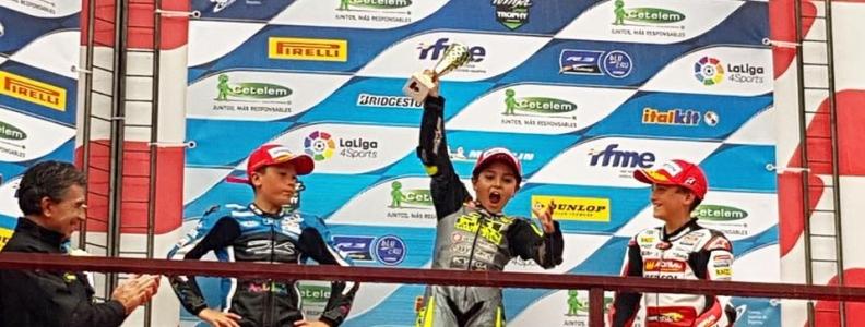 J.Juan se abona al podio de Moto4 con dos terceros y una victoria