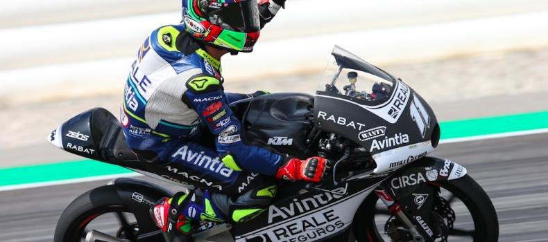 """""""La estructura de Moto3 es la continuidad del proyecto Reale Avintia Academy"""""""