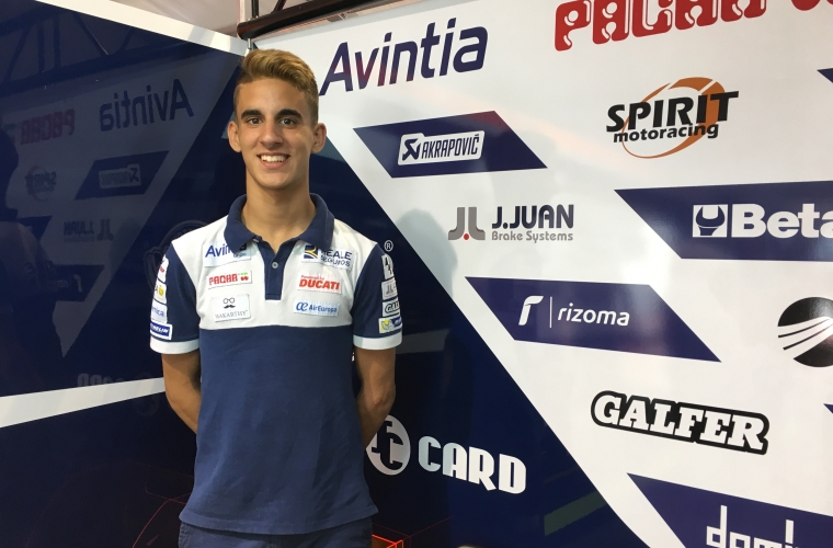 J.Juan corre en el Mundial de MotoGP
